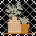 Houseplant Home Pot Icon