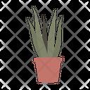 Pastel Plant Leaf Icon
