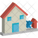 House Project Percentage Value Icon
