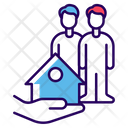 House Protection Home Safety Protective Home Icon