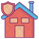 House Protections Insurance Good Material Used Icon