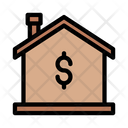 House Rate Dollar House Icon