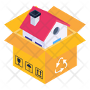 Home Recycling House Recycling Home Reuse Icon