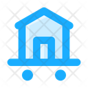Relocation Moving Delivery Truck Icon