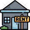 House Rent Real Icon