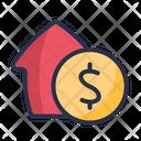 Dollar House Buy Icon