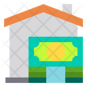 House Money Currency Icon