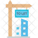 House Rent Landed Property Property Rental Icon