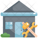 House Repair Real Icon