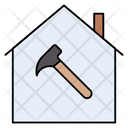 Repair House Building Icon