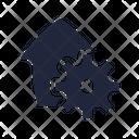 Repair Service Estate Icon