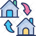 House Replace Exchange Restore Icon