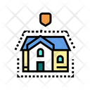 House Insulation Color Icon