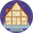 Houses Roof Top Building Icon