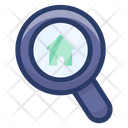House Search Home Monitoring House Inspection Icon