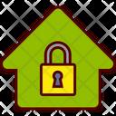 Lock Padlock House Icon
