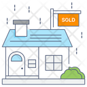 House Sold Home Sold Sold Property Icon
