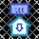 Temperature Loss House Icon