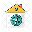 Ventilation Room Home Icon