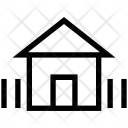 House with fence Icon