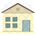 House With Windows Old House House Icon