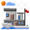 Houseboat Icon
