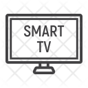 Household Smart Tv Icon