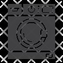 Household Wash Machine Icon