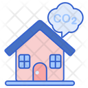 Household Carbon Footprint Icon