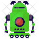 Household Robot Mechanical Robot Bionic Man Icon