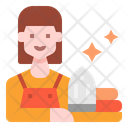 Maid Woman User Icon