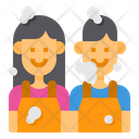 Housekeeper Clean Housekeeping Icon