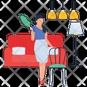 Housekeeping Hotel Housekeeping Room Service Icon