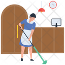 Housekeeping Hotel Housekeeping Room Service Icon