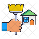 Housekeeping Clean House Clean Home Icon