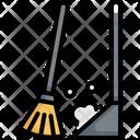 Broom Sweeping Hygiene Icon
