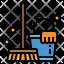 Household Laundry Wash Icon