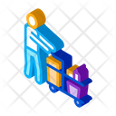 Cleaner Cart Cleaning Icon