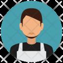 Housekeeping Man Avatar Icon