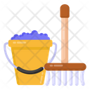 Broomstick Cleaning Equipment Broom Icon