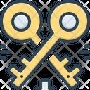 Housekeys Keys Access Icon