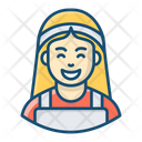 Housemaid Housekeeper Home Cleaner Icon
