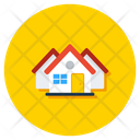 Houses Homes Accommodations Icon