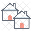 Residential Building Houses Homes Icon