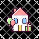 Housewarming Party Icon