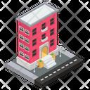 Building Commercial Building Construction Icon
