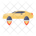 Hover Car Aerospace Technology Car Icon