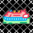 Rescue Hovercraft Rescuer Icon