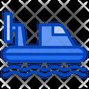 Hovercraft Ride Watercraft Icon