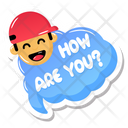 How Are You Icon